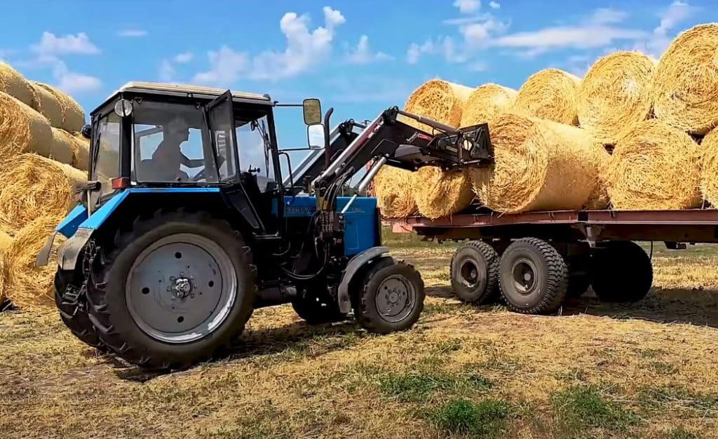 Применение трактора Беларус МТЗ 82.1