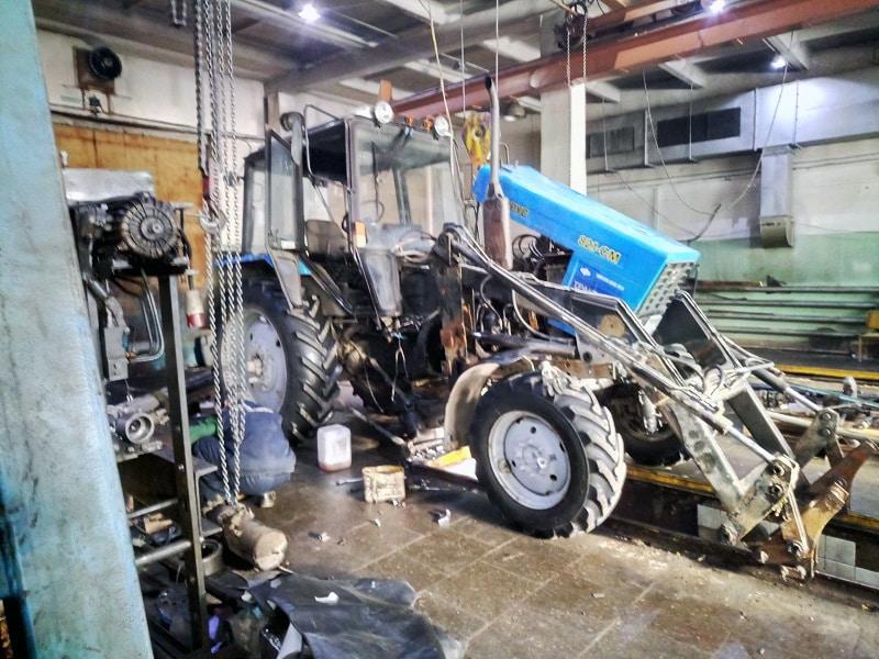 Как ремонтировать тракторы Беларус МТЗ 82